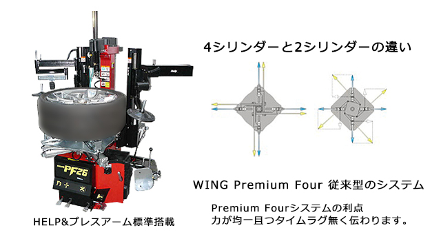 WING The Premium Four Series WING PF 26 / WING XF 24
