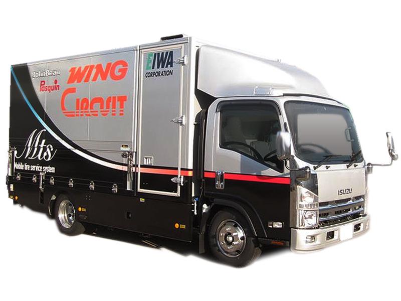 出張サービスカー「エイワM.T.S」が中小企業庁のものづくり商業・サービス革新事業に採択されました。